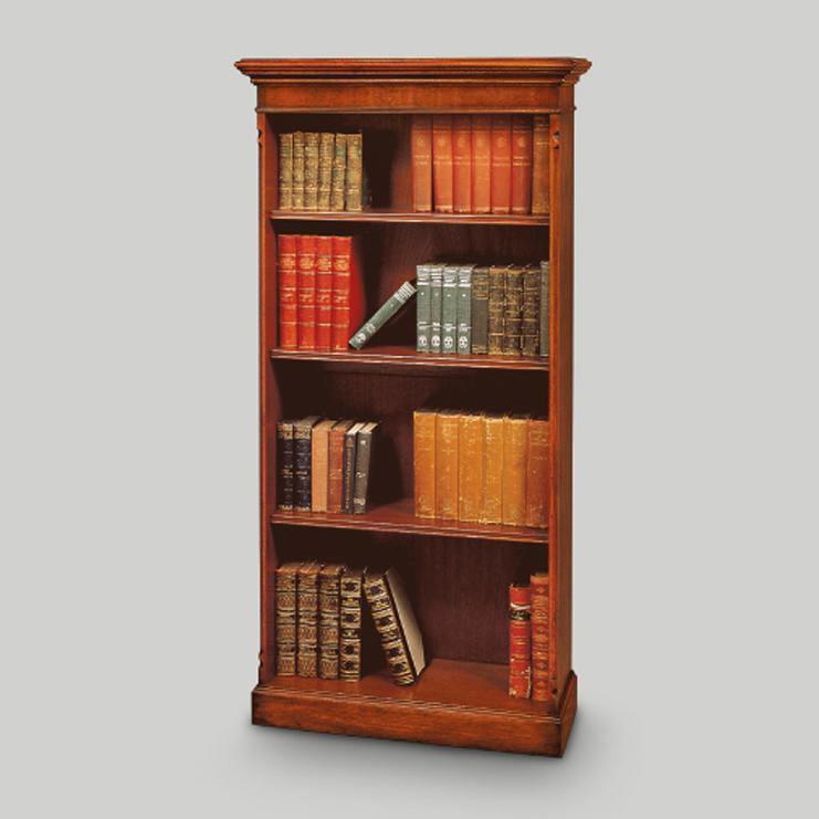 Шкаф книжный/библиотека - стиль английская классика - для ка.